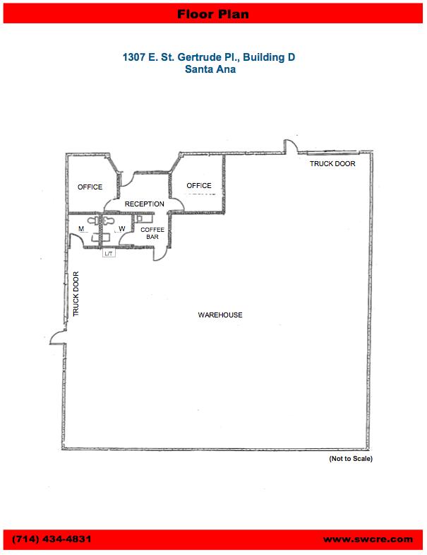 1307 E St Gertrude Pl Floor Plan