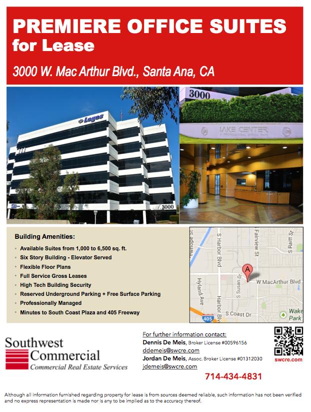 3000 W MacArthur Santa Ana LOGOS building